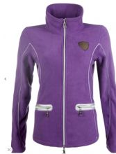 HKM LAURIA GARRELLI MOENA PURPLE FLEECE JACKET  - WAS £49.99